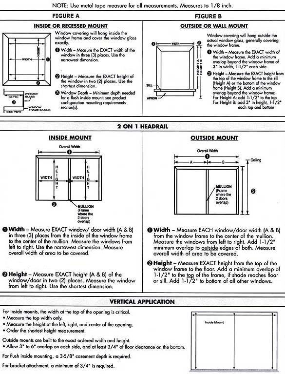 measuring for faux wood blinds inc. Black Bedroom Furniture Sets. Home Design Ideas