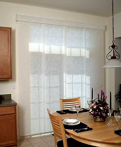Fabric Panel Track Blinds