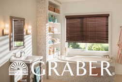 Shop For Graber Lake Forest Corded Faux Wood Blinds From
