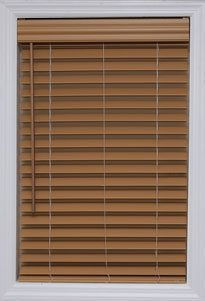 Graber Lake Forest Cordless Faux Wood Blinds