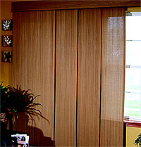Panel Track Blinds Basket Weave Panel Track Blinds